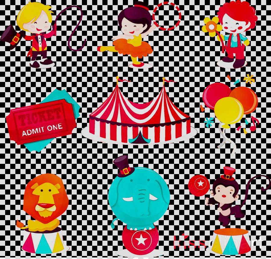 Circus Cartoon clipart.