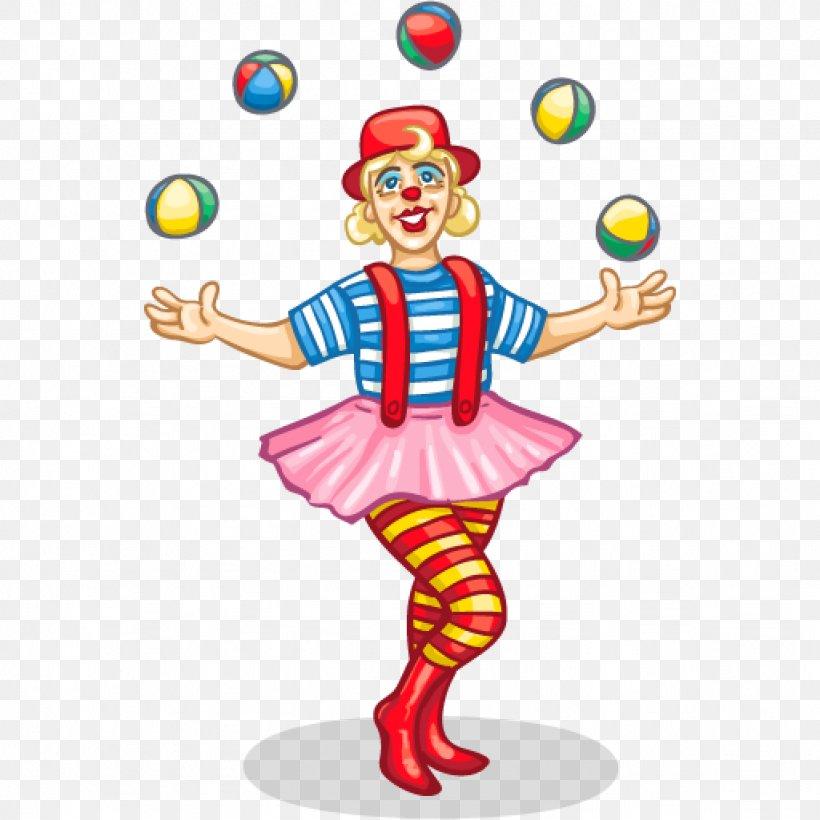 Clown Circus Juggling Clip Art, PNG, 1024x1024px, Clown.