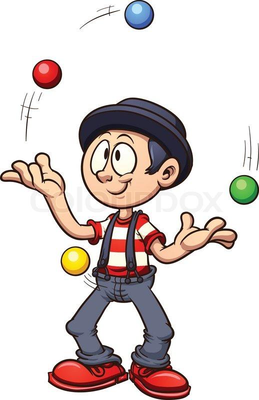 Circus juggler clipart 8 » Clipart Station.