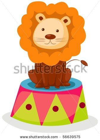 Circus lion clipart 2 » Clipart Station.