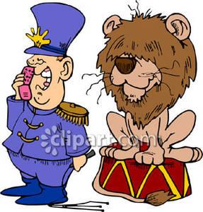 Circus Lion Tamer.