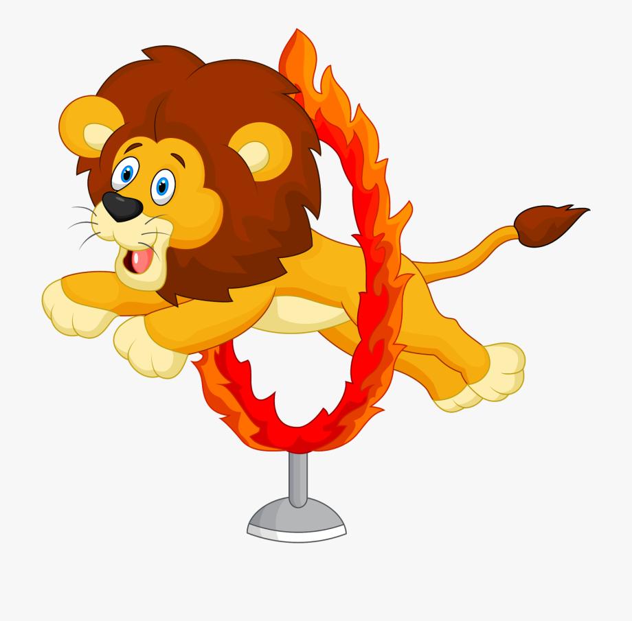 Circus Lion Clipart.