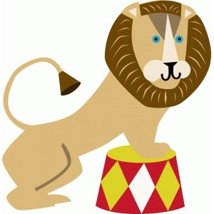 Circus lion clipart 4 » Clipart Station.
