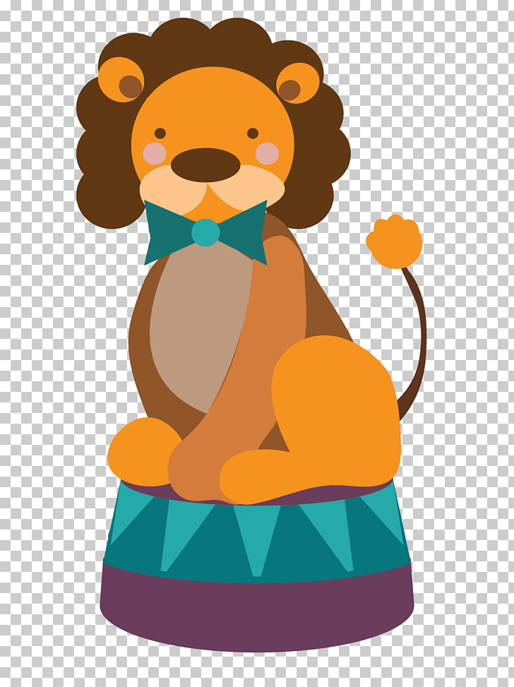 Lion Circus Scalable Graphics, circus lion PNG clipart.