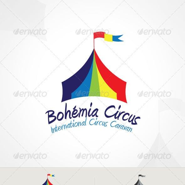 Circus Logo Graphics, Designs & Templates from GraphicRiver.