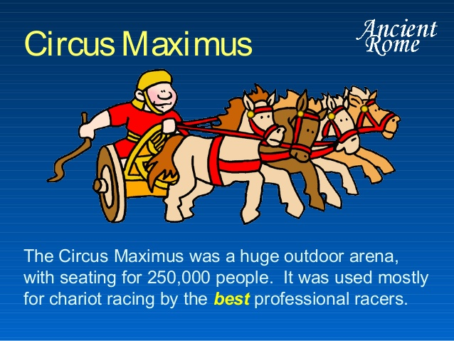 Nero circus maximus.