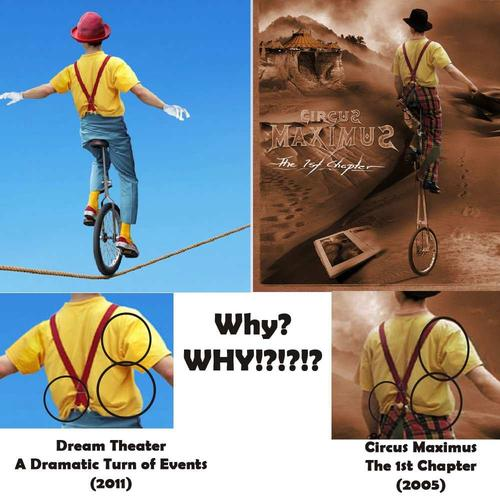 DREAM THEATER USED CLIP ART FOR THEIR NEW ALBUM COVER.