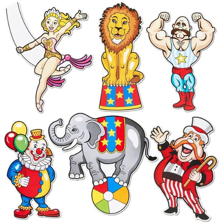 Circus Acts Clipart.