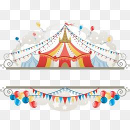 Circus Label, Circus, Cartoon Circus, Ha #34438.