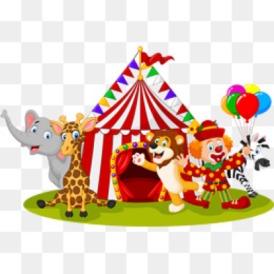 Circus PNG Images.