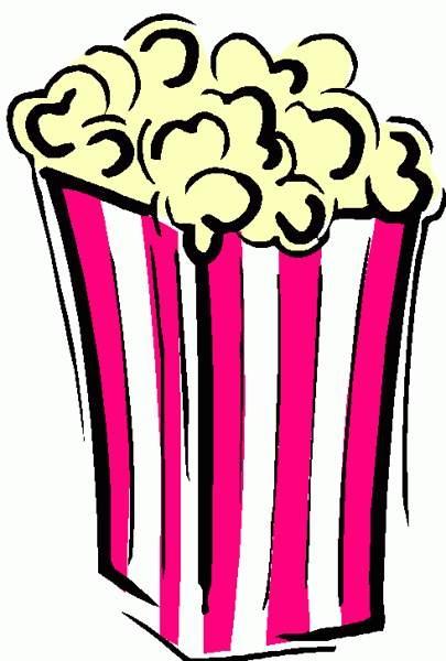 Circus Popcorn Clipart.