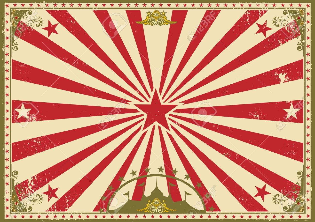 a vintage circus poster.