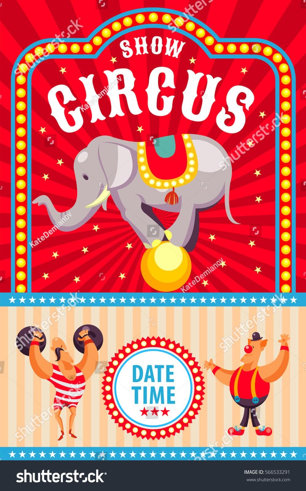Circus poster clipart 9 » Clipart Portal.