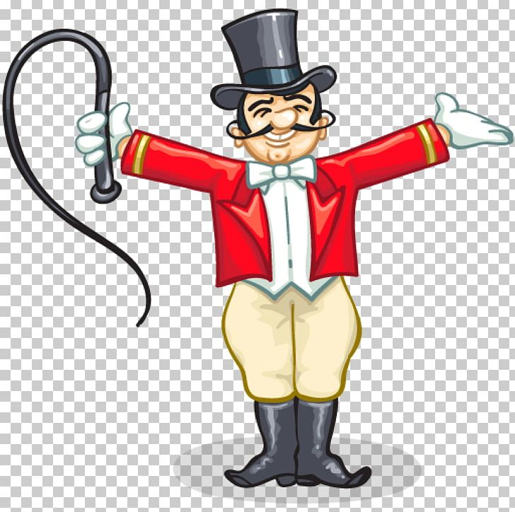 Ringmaster Circus Clown PNG, Clipart, Animation, Cartoon, Circus.