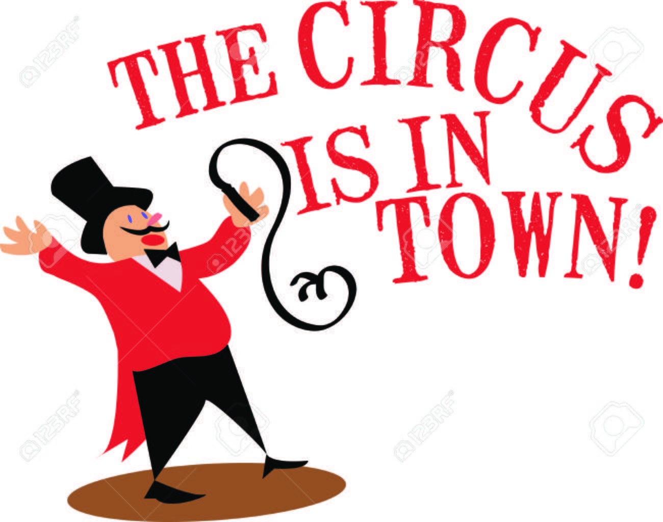 Use this ringmaster for a fun circus theme project..