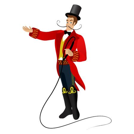 411 Circus Ringmaster Stock Vector Illustration And Royalty Free.