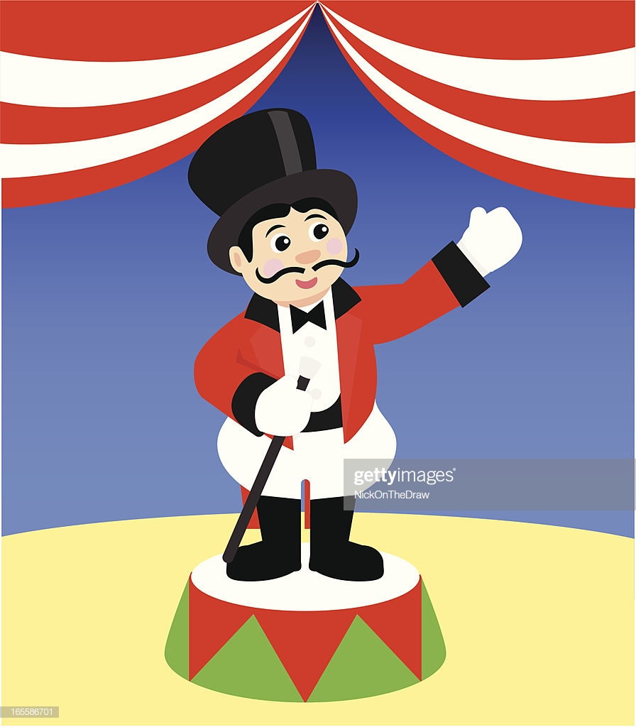 60 Top Ringmaster Stock Illustrations, Clip art, Cartoons, & Icons.