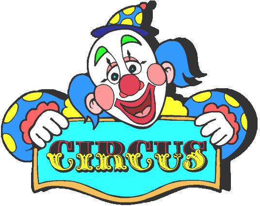 Pix For Circus Signs Clipart.