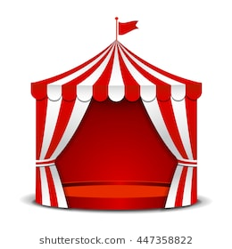 Circus tent clipart 3 » Clipart Station.