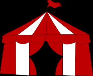 Blue Circus Tent. Clip Art at Clker.com.