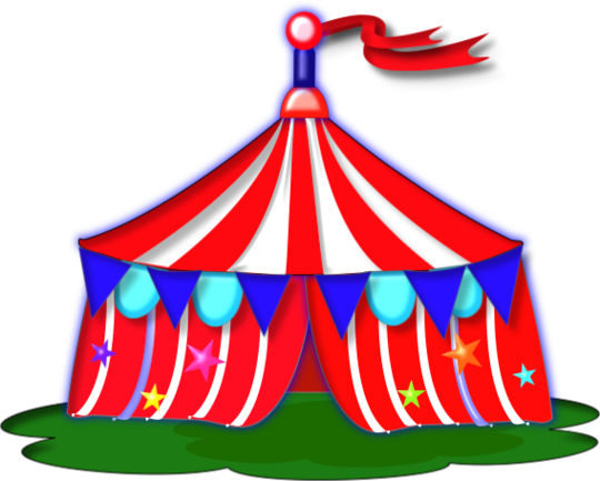 Free circus tent clip art clipart to use resource.