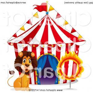 Circus Tent Svg Circus Tent Clipart.