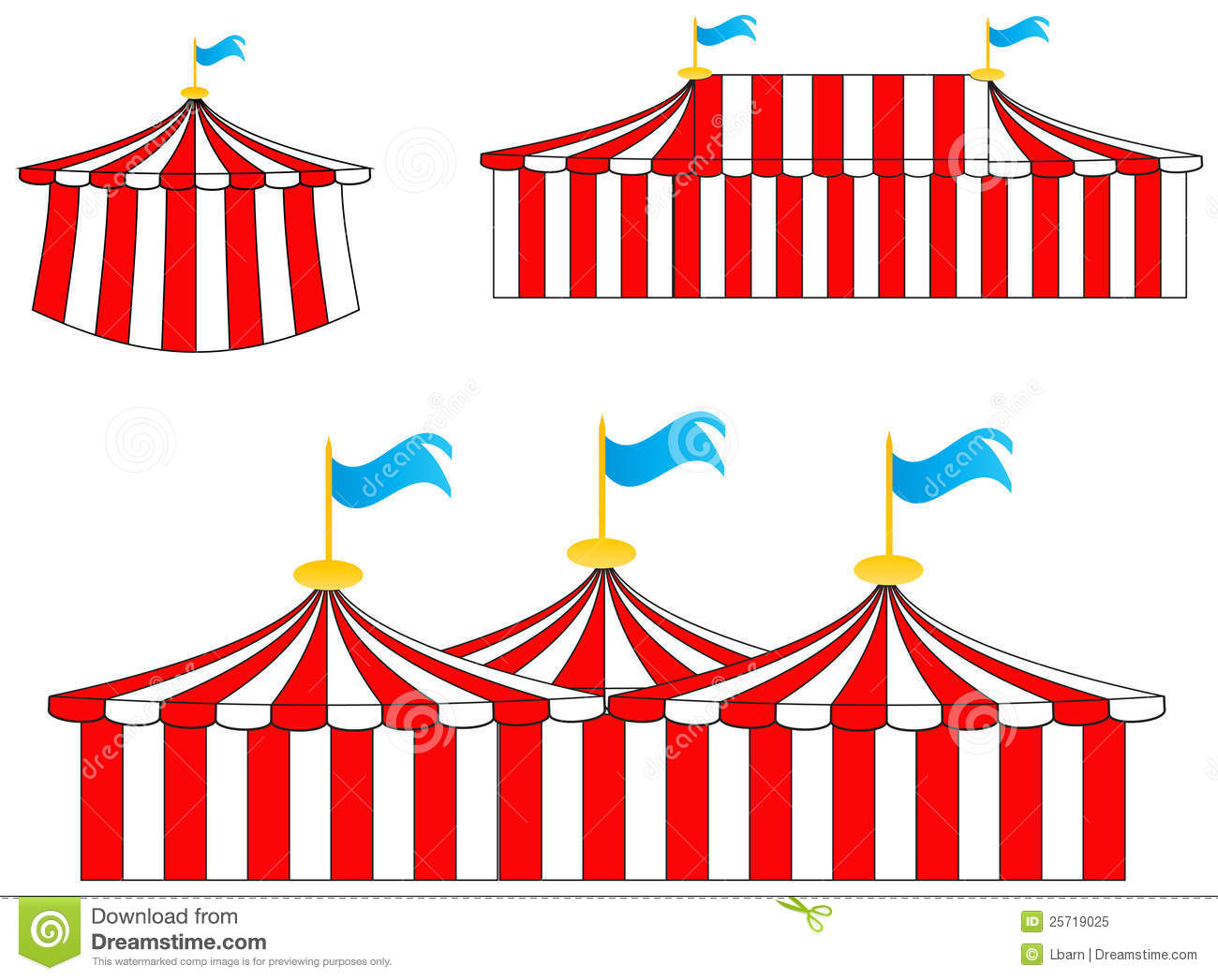 98+ Circus Tent Clipart.
