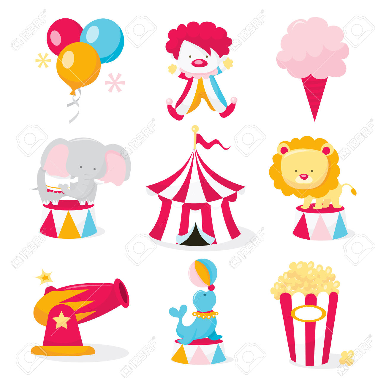 Circus themed clipart clipground - Clipart carnaval ...