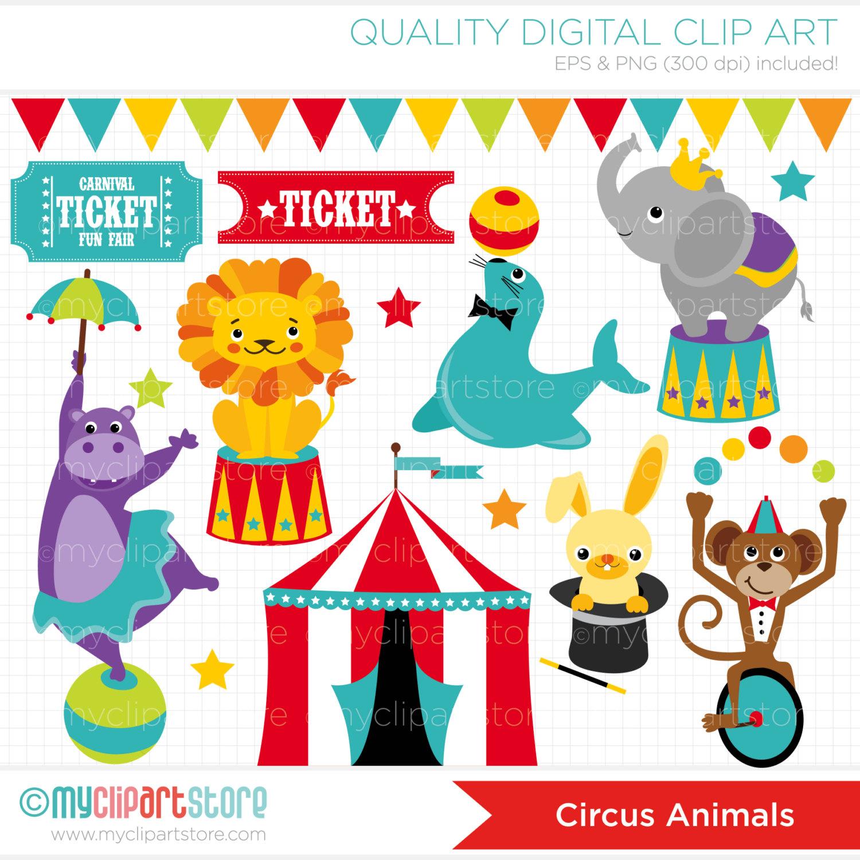 free circus clip art borders.