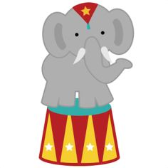 Circus theme on clip art circus font and carnival font.