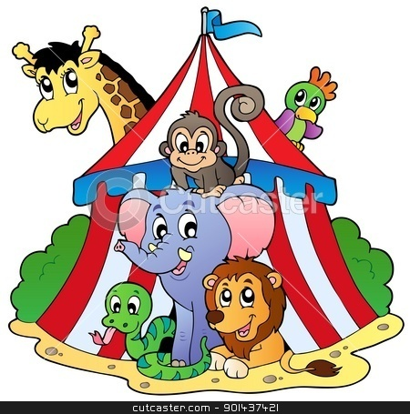 Circus Themed Clipart.