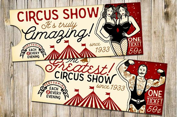 44+ Circus Ticket Templates.