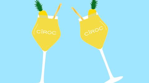 Ciroc summer colada GIFs.