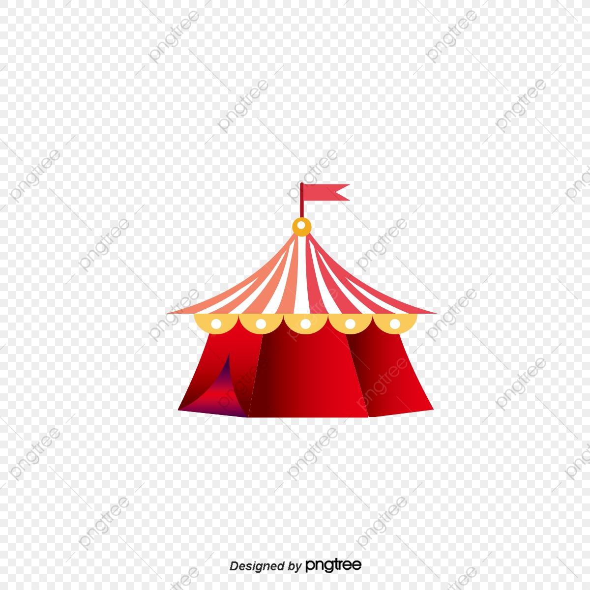 Cirque, Tente, Cirque, Le Vecteur De La Tente Fichier PNG et PSD.