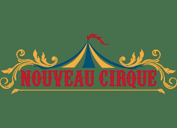 Nouveau Cirque Logo transparent PNG.