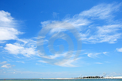 Cirrus Clouds Clipart.