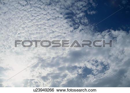 Stock Images of Cirrocumulus u23949266.