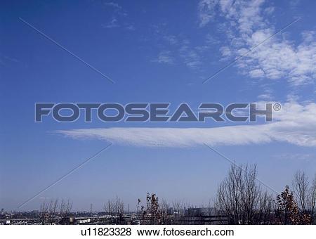 Pictures of Cirrocumulus and altocumulus clouds u11823328.