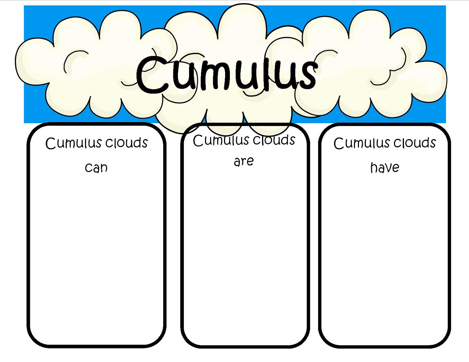 Clip Art Of Cirrus Clouds.