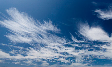 Cirrus clouds » Clipart Station.