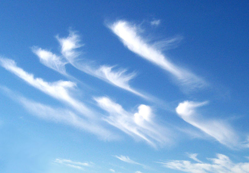 Cirrus clouds clipart 1 » Clipart Station.
