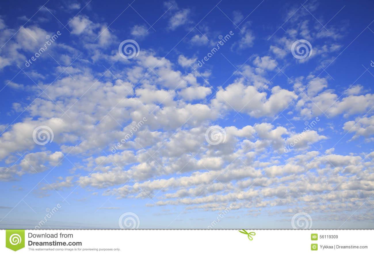 Beautiful Cirrus Clouds Stock Image.