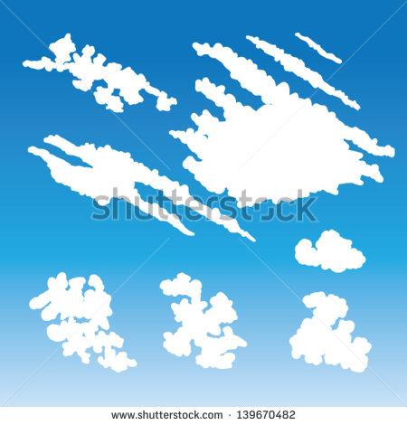Cirrus Clouds Clipart.