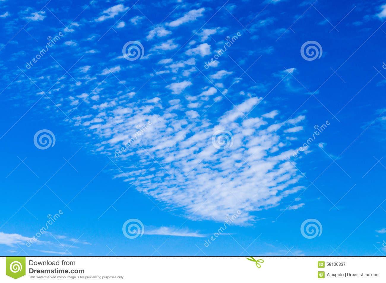 Cirrus Clouds Clip Art.