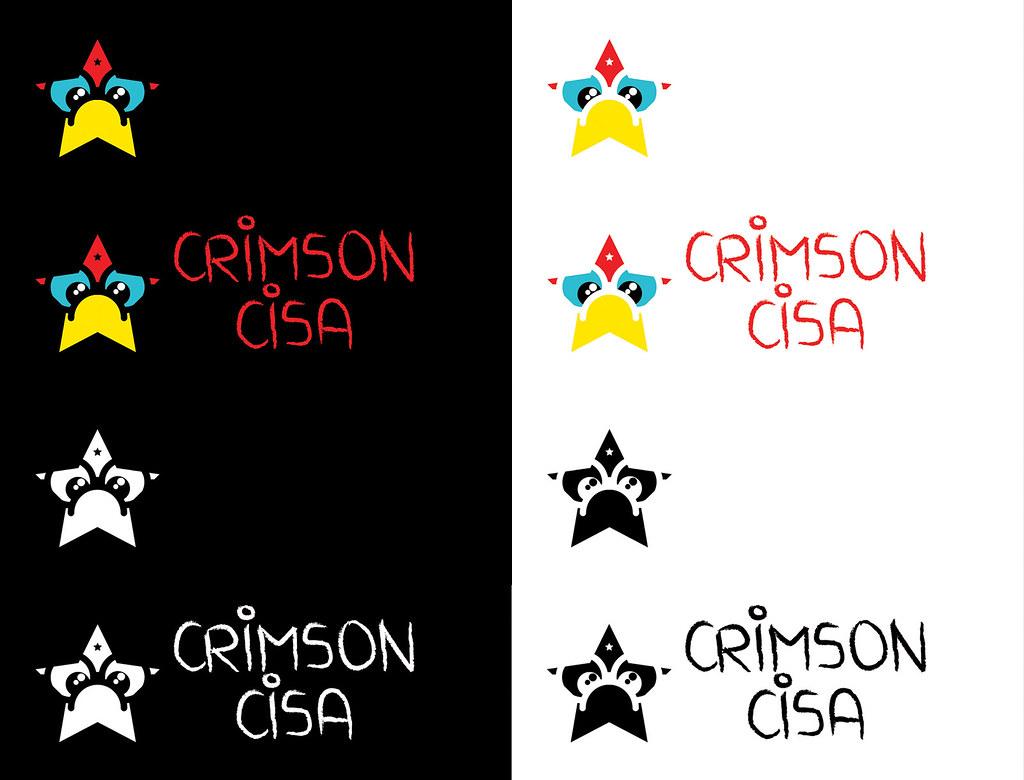 Crimson Cisa logo presentation.