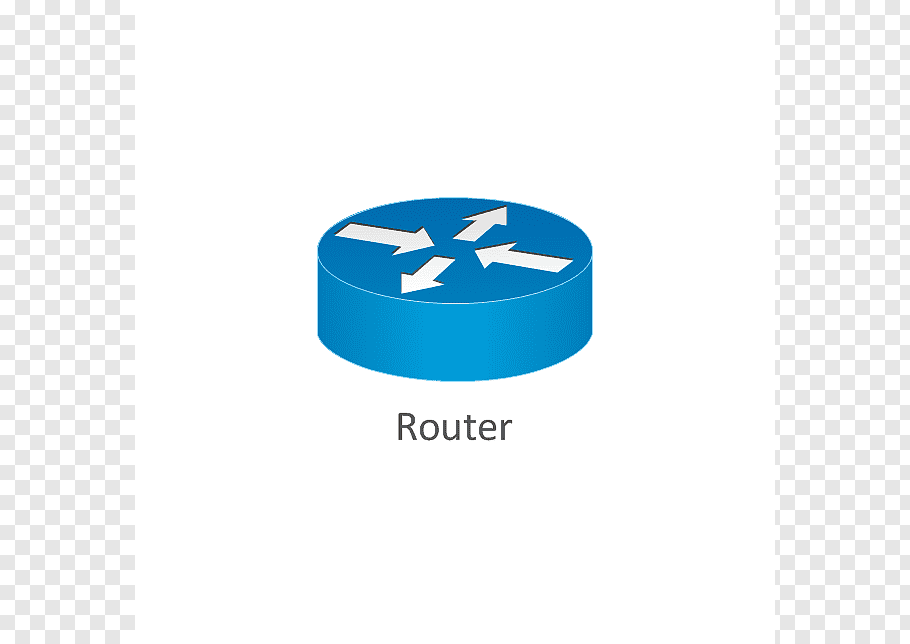 Blue router illustration, Router Cisco Systems Computer.