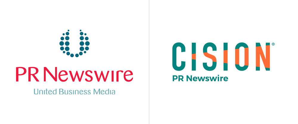 Brand New: New Logo for Cision (and PR Newswire).