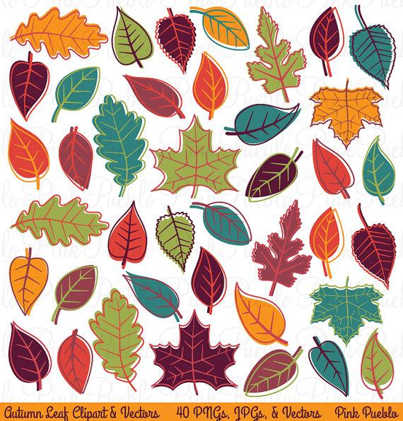 Autumn Fall Leaves Clipart Clip Art, Thanksgiving Leaf.