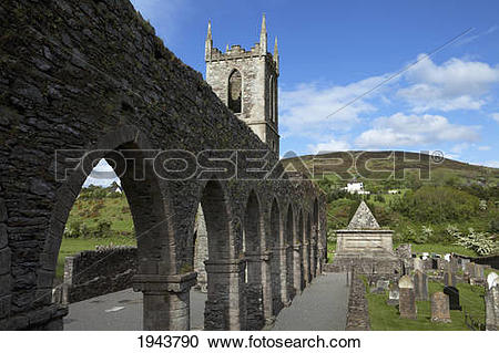 Stock Photography of Baltinglass Abbey Founded As A Cistercian.