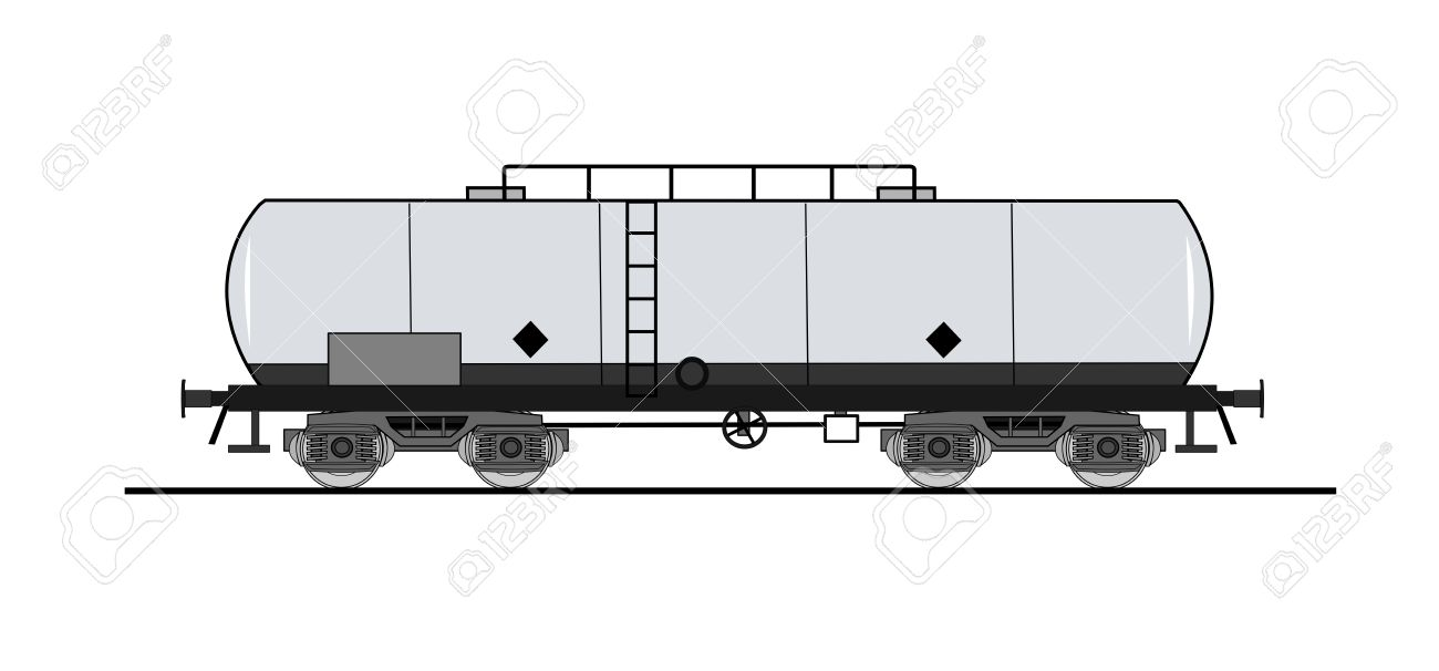 Cistern Rail Car Royalty Free Cliparts, Vectors, And Stock.